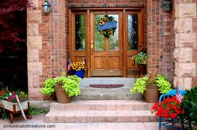 front door decorating ideas summer with summer front porch