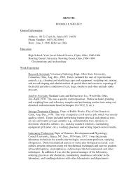 Veterinary Resume Templates Vet Assistant Resumes Vet Tech Resumes Resume Template Vet Tech