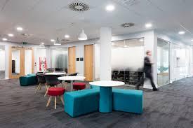 Stylish Office An Inside Look At Exertis U0027 New Stylish Office Officelovin U0027