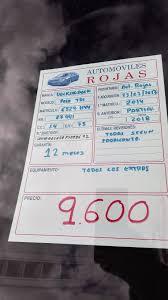 stock de vehículos u2013 automóviles rojas