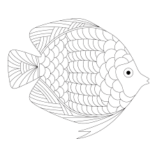free printable fish coloring inspired 06 02 14 daily
