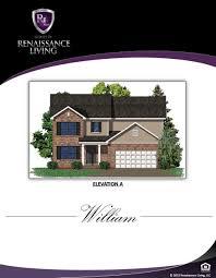 renaissance homes floor plans the william renaissance living llc