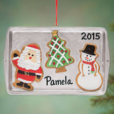 personalized cookie sheet ornament zoom everything christmas