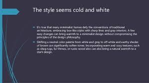 a primer on minimalism in home design