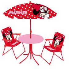 table et chaise minnie jemini set de jardin enfant minnie pas cher achat vente