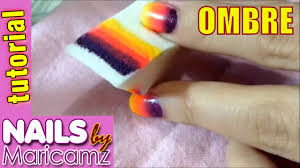nail art designs step by step at home ombre nail art sponge easy