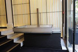hotel restaurant and shop gallery access lifts