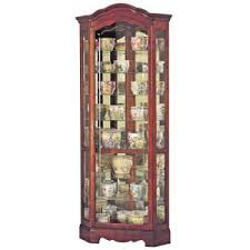 Specialty Lighting Curio Cabinet Fully Assembled Curio Cabinets Hayneedle