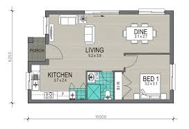 Granny Flats Floor Plans Granny Flat Design 1 New Living Homes