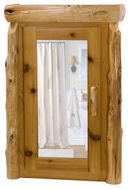 Rustic Bathroom Medicine Cabinets by Cedar Log Medicine Cabinet Log Bathroom Cabinets Rustic