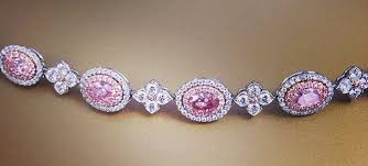colored tennis bracelet images 5 ways to accessorize your festive outfit with pink diamonds jpg