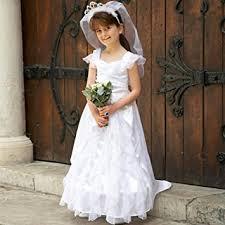 childrens wedding dresses childrens wedding dress 6 8yrs dressing up