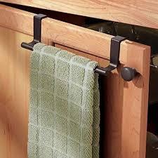 over cabinet door towel bar over cabinet door towels holder kitchen towel rail brackets hanging