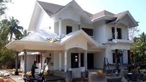 construction almost completed european style house for sale in