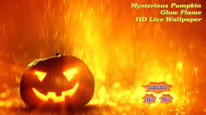 halloween hd live wallpaper mysterious pumpkin glow flame android apps on google play