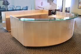 Plywood Reception Desk Reception Desks U0026 Stations Virginia Reception Room Office Furniture