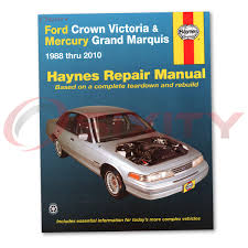 mercury grand marquis haynes repair manual ls gsl ultimate edition