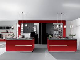 Cuisine Contemporaine Avec Ilot Central by Cuisine Moderne Design Avec Ilot Cuisine Moderne Blanc Brillant