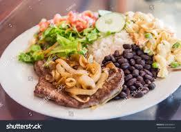 id d o cuisine casado costarican food stock photo royalty free 638209654