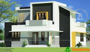 two home designs simple floor home design 1226 sq ft