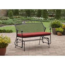 Metal Sofa Glider Metal Glider Patio U0026 Garden Furniture Ebay