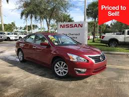 nissan altima coupe in miami certified pre owned nissan vehicles ft lauderdale u0026 miami