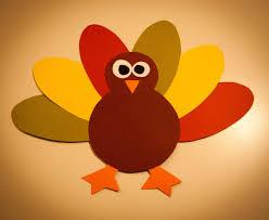 thanksgiving turkey paper craft for kids free pdf pattern