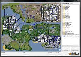 San Andreas Map Teleport San Andreas V3 0 Beta For Gta San Andreas