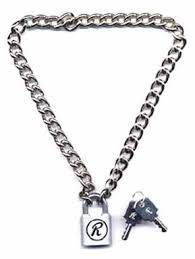 chain lock necklace images Sex pistols sid vicious padlock chain chain with a lock jpg