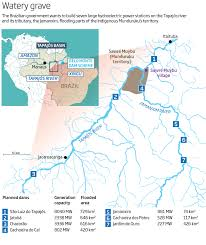Map Of The Amazon River Dambusters The End Of Brazil U0027s Hydroelectric Dreams New Scientist