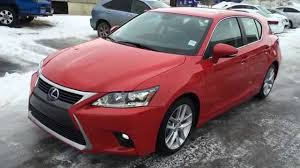 lexus ct hybrid awd lexus certified pre owned red 2014 ct 200h hybrid touring