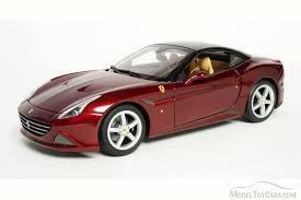 california model car california closed top bburago 16902 1 18 scale