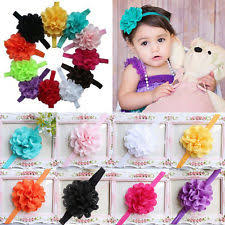 headband for babies baby headbands flower crochet pastel ebay