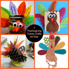 thanksgiving turkey crafts for