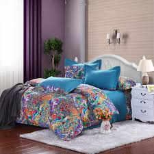 blue and orange bedding royal blue purple and orange tropical hawaiian themed waverly