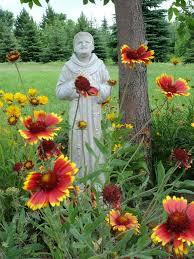 Flowers In Bismarck Nd - 54 best backyard saints images on pinterest saints st francis