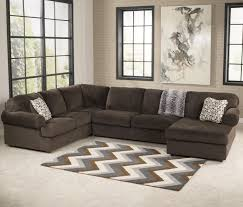 chocolate sectional sofa signature design by jessa place chocolate casual sectional