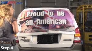 See Through Window Graphics How To Install Perforated Window Graphic On A Vehicle Youtube