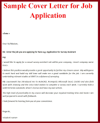 what is a cover letter for a job resume cover letter example