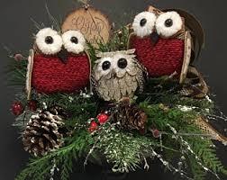 owl decoration etsy