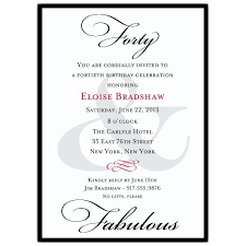 excellent 40th birthday invitation wording as prepossessing ideas