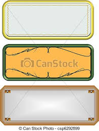 ornamental name plates name plates in gold silver and stock
