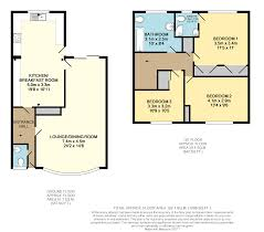 Terraced House Floor Plan by 3 Bedroom Terraced House For Sale In Temple Mead Close Stanmore