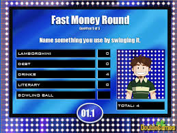 family feud fast money powerpoint template family feud fast money