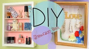 diy showcase shadow jewelry box no nails how to make youtube
