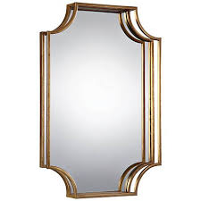 Uttermost Mirrors Free Shipping Uttermost Lindee Gold Leaf 29 3 4