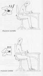 postura corretta scrivania postura corretta alla scrivania informazioni mediche