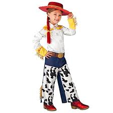 jessie costume shirt pants red hat braid 7 8 toy story 3 nwt