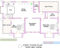Indian House Floor Plan by 2 Story House Floor Plans And Elevations Plan Second U Decorating
