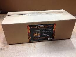 amazon com irish peat briquettes 20 22 fire logs garden